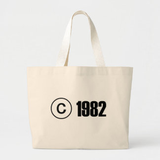 Copyright 1982 tote bags
