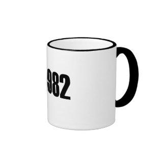 Copyright 1982 ringer mug