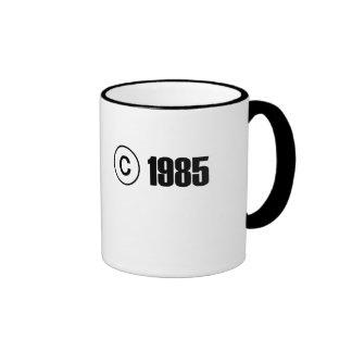Copyright 1985 mugs