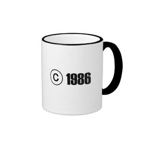 Copyright 1986 mugs