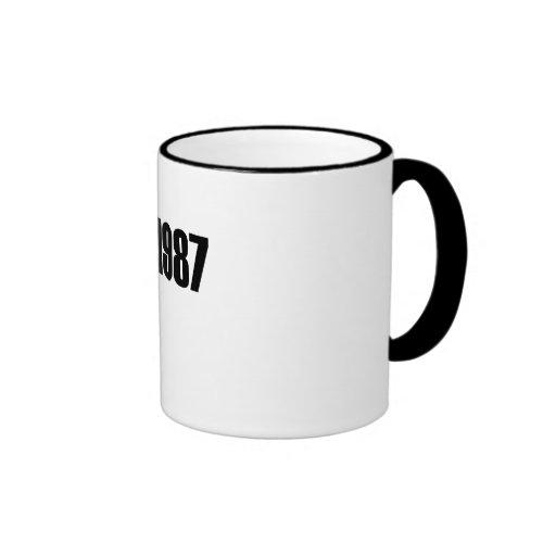 Copyright 1987 coffee mug