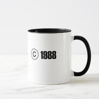 Copyright 1988 mug