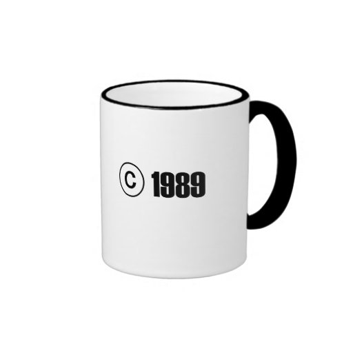 Copyright 1989 mug