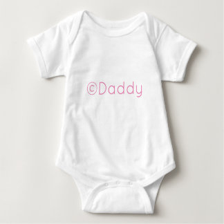 Copyright Daddy Baby Bodysuit
