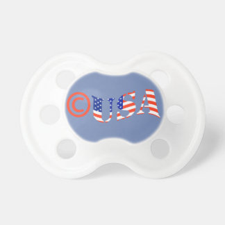 Copyright USA Baby Pacifier FOR BOY