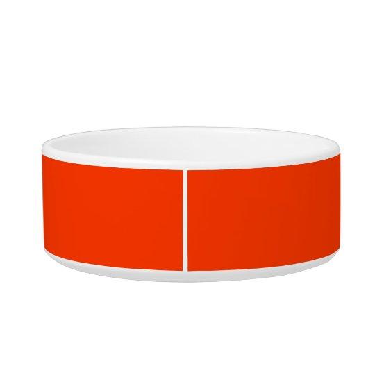 Coquelicot Bold Colour Complementing Pet Bowl