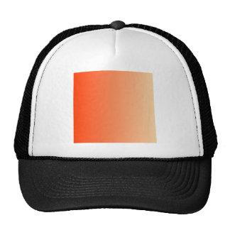 Coquelicot to Sunset Vertical Gradient Trucker Hat