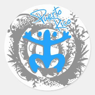 Coqui Taino Puerto Rico Classic Round Sticker