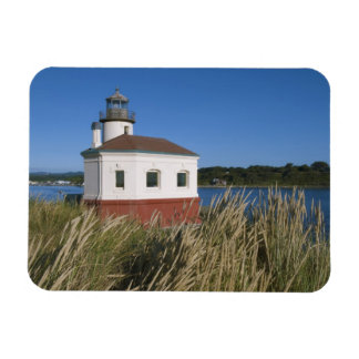 Coquille River lighthouse, Oregon, USA Magnet
