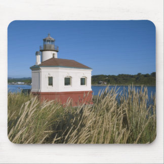 Coquille River lighthouse, Oregon, USA Mouse Mat