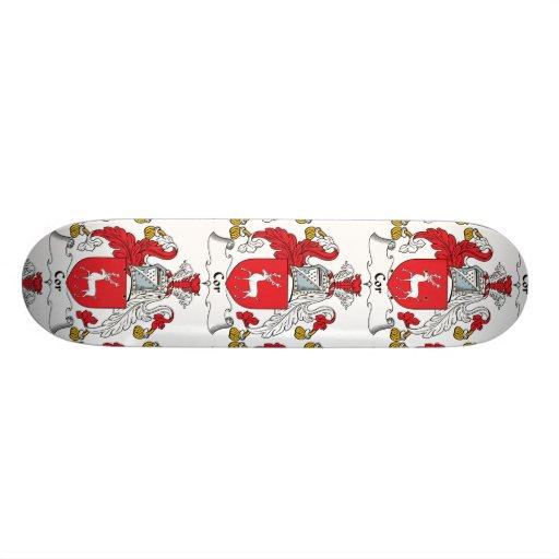 Cor Family Crest Custom Skateboard