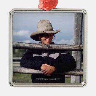Cora, Wyoming, USA. Christmas Ornament