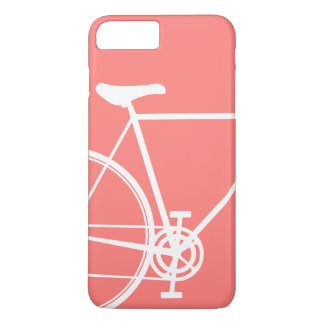 Coral abstract bike Case-Mate Barely There iPhone iPhone 7 Plus Case