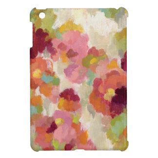 Coral and Emerald Garden iPad Mini Covers