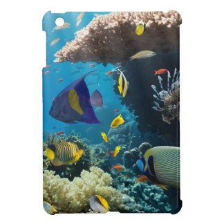 Coral and fish in the Red Sea, Egypt iPad Mini Covers