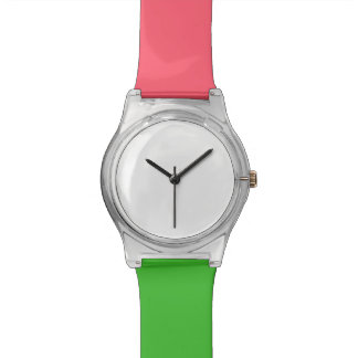 Coral and Green May28th watch