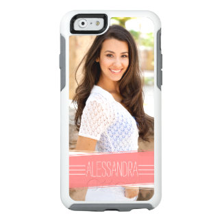 Coral Banner Custom Photo Personalised OtterBox iPhone 6/6s Case
