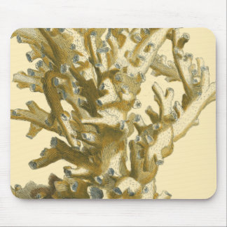 Coral by the Sea Mouse Mat