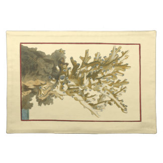 Coral by the Sea Placemat