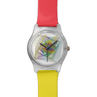 Coral colors watch