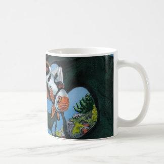 Coral Conundrum Basic White Mug