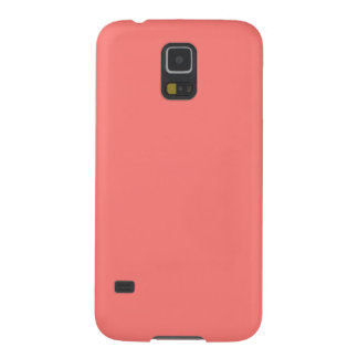 Coral Coral Galaxy S5 Covers