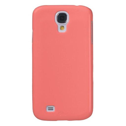 Coral coral Samsung Galaxy S4 Samsung Galaxy S4 Case