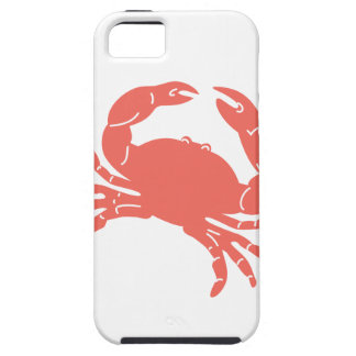 Coral Crab Case For The iPhone 5