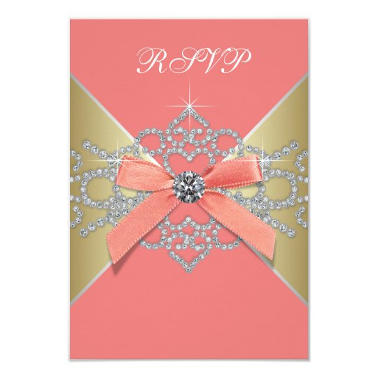 Diamonds And Pearls Invitations Announcements – Birthday Rsvp Cards