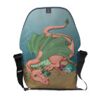 Coral Dragon Ocean Fantasy Commuter Bag