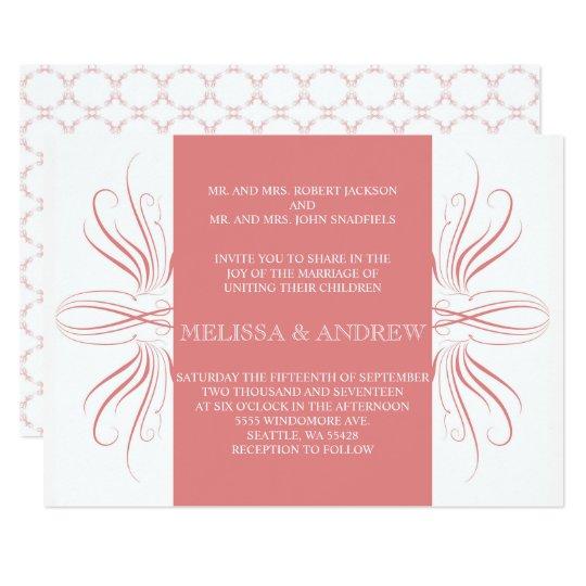 Z Coral Card Coral Anniversary Card...