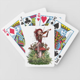 Coral Fairy ~ Sweet Melody Bicycle Playing Cards