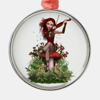 Coral Fairy ~ Sweet Melody Christmas Ornament