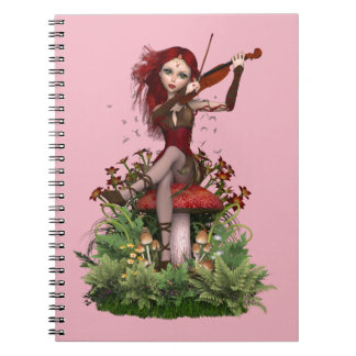 Coral Fairy ~ Sweet Melody Notebook
