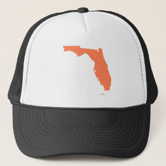 Coral Florida Trucker Hat