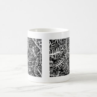 Coral fossil coffee mugs