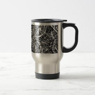 Coral fossil coffee mug