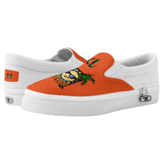 Coral Lago Slip on's Printed Shoes