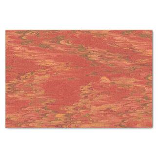 Coral Lava Tissue Paper