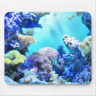 Coral Mouse Mat