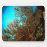 coral mouse pad