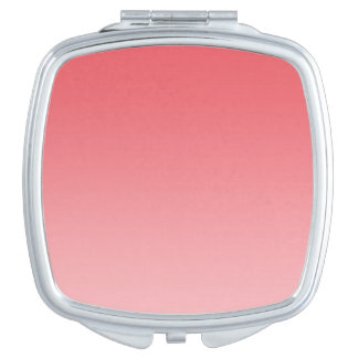 Coral Ombre Mirror For Makeup