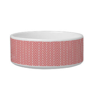Coral Patterned Pet Bowl (Medium)