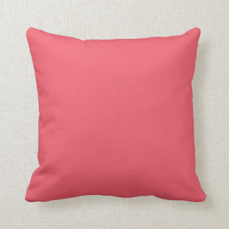 Coral Peach Pink Scatter  Throw Cushion