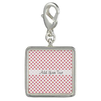 Coral Pink Polka Dots by Shirley Taylor