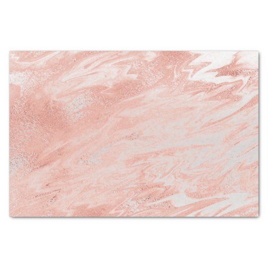 Coral Pink Rose Gold Blush Metallic Marble Gray