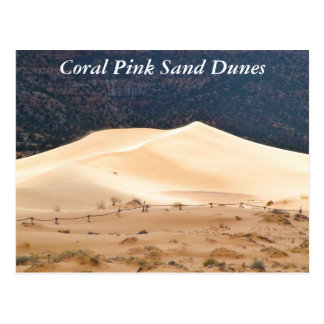 Coral Pink Sand Dunes Post Cards