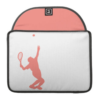 Coral Pink Tennis Sleeves For MacBook Pro