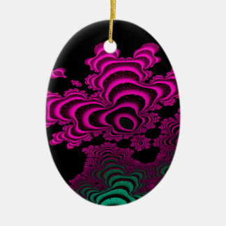Coral Reef Ceramic Oval Decoration