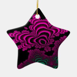 Coral Reef Ceramic Star Decoration